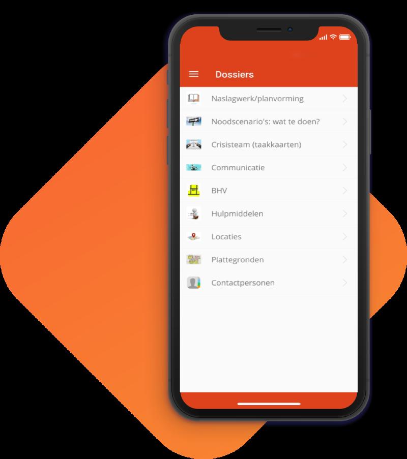 Planvorming screenshot